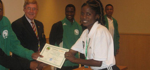 Straight from officiating a Fifa Under 20 Women world Cup qualifier, the country's top woman assistant referee has been invited for Elite A course of women match officials in Cairo,...