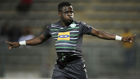 Flames striker Gabadinho Mhango came off the bench to score four goals in a come-from-behind 4-2 win against Mpumalanga Black Aces at Mbombela Stadium. Aces had led 2-0 through Collins...