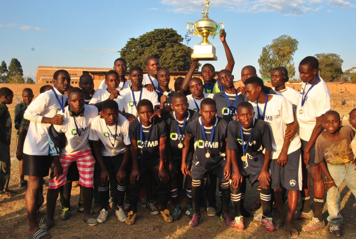 2015 champions: Dedza Young Police